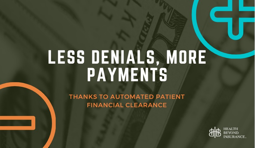Patient Financial Clearance